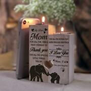 Christmas Gift For Mom Pair Candle Holder From Daughter For 2020 Xmas Birthday