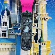 Disney Parks Haunted Mansion Tightrope Girl Stretching Portrait Pink Magicband