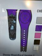 Disney Parks Haunted Mansion Tightrope Girl Stretching Portrait Purple Magicband