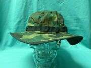 Authentic Soviet-russian Ussr Army Summer Boonie Hat - Camo Green - Size L-xl