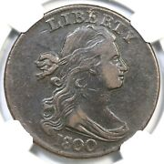 1800/798 S-191 R-2 Ngc Vf 35 Draped Bust Large Cent Coin 1c