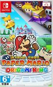 Paper Mario The Origami King Asia Chinese/english Etc Switch Brand New