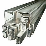 200 X 100 X 8 Grade 316 Stainless Steel Unpolished Box Section Any Length