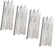 Htanch Sn6021 4-pack Stainless Steel Heat Plate For Gas Grill Models By Broil
