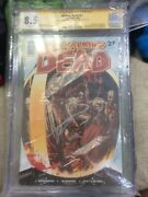 The Walking Dead 27 Signed Cgc 8.5