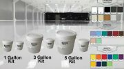 1 3 5 15 Gal Kit High Gloss Clear Garage House Coating Concrete Epoxy Floor