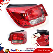 Left Right Side Outer Rear Tail Light Stop Lamps For Chevrolet Malibu 13 14 15