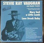 Rare Promo 1983 Steve Ray Vaughan And Double Trouble – Mary Had A Little Lamb 2