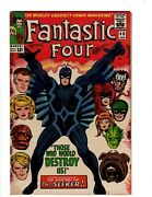 Fantastic Four 46 Vf Marvel Comic Book Thing Human Torch Dr. Doom S Lee Of2