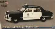 1/18 Lapd P 1950 Ford Police Car Precision Miniatures