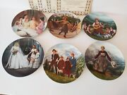 Lot Of 6 Bradford Exchange Sound Of Music Collectorand039s Plates Knowles New In Box