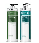 Professional Super Smooth Kit Keratin Treatment + Synergistic 2x1000ml - Rovely