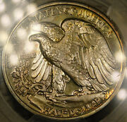 1942 50c Silver Proof Walking Liberty Half Certified Pcgs Pf67+ Exceptional Cac