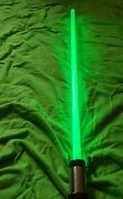 Rare 2007 Star Wars Master Replicas Yoda Force Fx Lightsaber Works Great