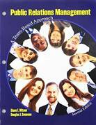 Public Relations Management A Team-based Approach - Loose Leaf - Good