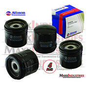 2000-up Allison Transmission 4-pack Oil Filter Lct100 Chevy Gmc Duramax Diesel