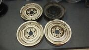 Original Gm 1958 Corvette 15 X 5 Wheels Matched Set