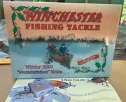 Winchester Winter 2001 Presentation Baits 1 Of 1000 Sealed With Minnow Bait