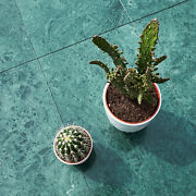 Verde Guatemala Polished Green Marble Wall And Floor Tiles 610x305x10 Mm