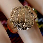 9 Ct Gold Second Hand War Time Ring