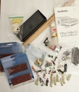 Misc Plasticville Accessories- People, Bricks, Train Smoke- Some Kind Of Switch