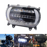 Motorcycle Headlight Projector W/ Drl And Turn Signal For 15-20 Harley Road Glide