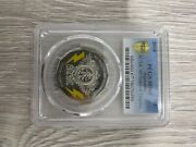 2018 50 Cent - Ac/dc - 45 Years Of Thunder - Coloured Coin - Pcgs Ms67
