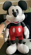 Mickey Mouse Simulated Leather Plush – Large – 26'' Brand New