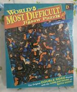 Butterflies Jigsaw Worlds Most Difficult Puzzle Double 2 Sided 529 Pieces New
