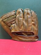 Wilson 1940and039s Streamlined Fingers Baseball Glove 3 Fingers No. 2231204