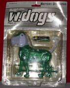 Funmax W.dogs Toy Dog Green Battery Operated Runs Flips Its Tail