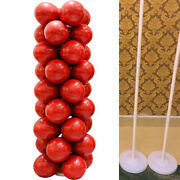 1sets Balloon Column Base Upright Pole Display Stand Kit For Wedding Party Decor