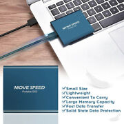 Mini 1tb Pssd Mobile Hard Disk Solid State Drive Slim External For Laptop H8z8