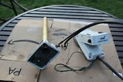 Johnson E45c Scout Trolling Motor Shaft W/ Foot Control Pedal Vintage Used Parts