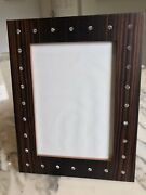Linley Photo Frame With Swarovsky Crystals Designed By David Linley