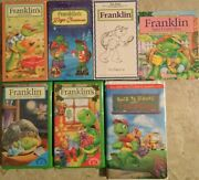 6 Franklin Vhs Tape Lot Magic Christmas Gift Halloween And Chick Fil A Book