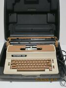 Vintage Electric Silver Reed Seiko Sp-8700 Typewriter And Case Japan Parts Only