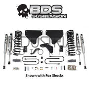 Bds Suspension 13-18 Dodge Ram 3500 4wd 4 Inch Lift Kit With Fox Shocks 696h