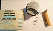 Nos New Old Stock Oem Quicksilver Mercury 774-9137a 9 Piston Assembly Std