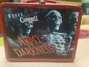 Limited Edition Collectible 1993 Neca Bruce Campbell Army Of Darkness Lunch Box