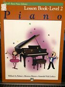 New Lot Of 5 Alfred's Basic Piano Library Books Level 2 Lesson-recital-theory