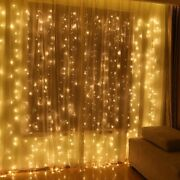 Led Curtain Lights 3m3m 2m2m 6m4m Christmas Fairy String Party Lights Outdoor