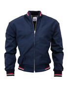Relco London Mens Monkey Jacket Navy Blue Mod 60and039s 1960s Retro Made In England