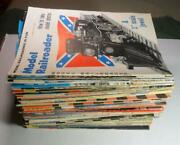 Over 55 Model Railroader Model Trains Magazines 1950and039s To 1970and039s
