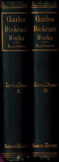 Rare 1874 Charles Dickens 2 Volumes Little Dorrit Osgood Library Edition
