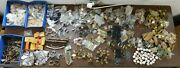 2500+ Pieces Nos 60and039s And 70and039s Vintage Kitchen Cabinet Hardware Hinge Pulls Misc