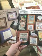 2 Cross Stitch Patterns Graduation Piggy Bank Notes Hickory Hollow Pam Waters