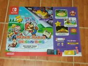 Paper Mario The Origami King Promotional Poster - 36 X 26