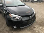 Front Clip Bar Design Upper Grille With Fog Lamps Fits 14 Corolla 521265