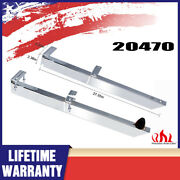 2x Universal 20470 Leaf Spring Car Traction Bars Chrome Summit Steel 28 Silver